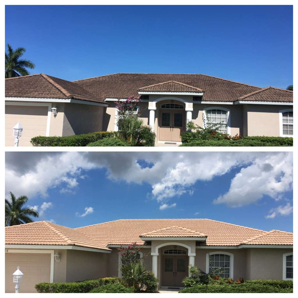 roof / house pressure washing services Sarasota, FL