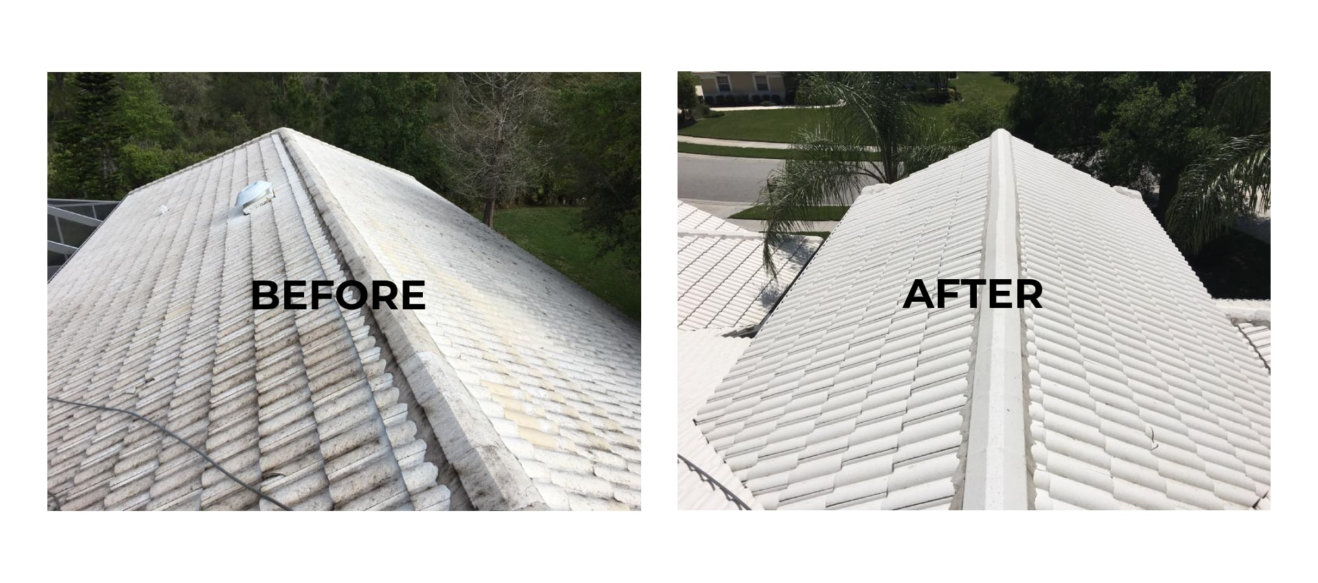 roof pressure washing services Sarasota, FL